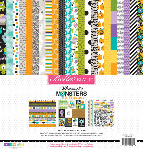 Bella Blvd - Monsters & Friends Collection Kit