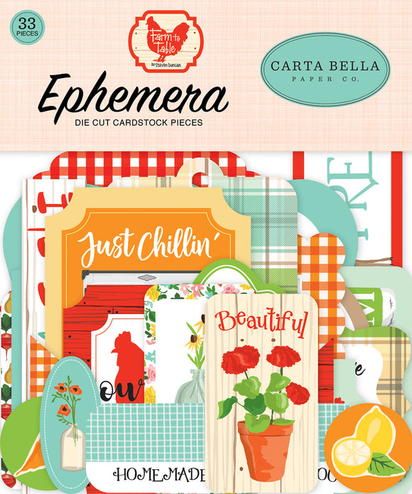 Carta Bella - Farm to Table Ephemera