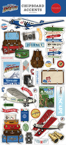 Carta Bella - Our Travel Adventure Chipboard