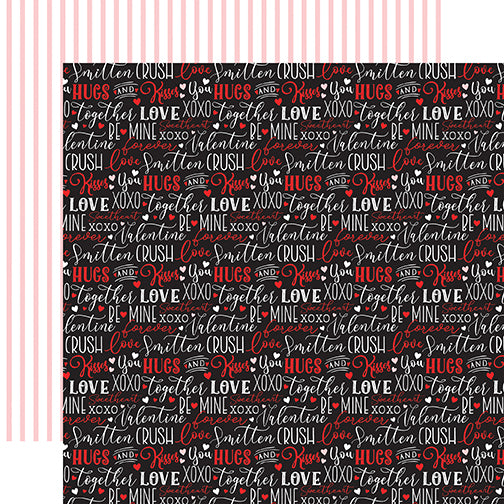 Echo Park Cupid & Co. - Love Words 12x12 Cardstock