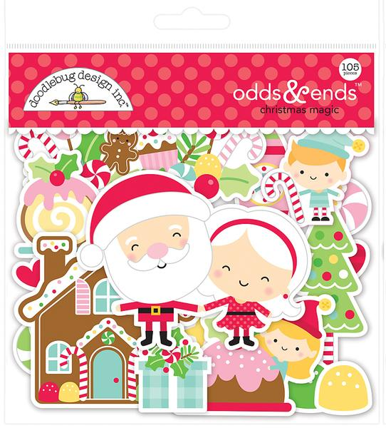 Doodlebug Night Before Christmas - Odds & Ends