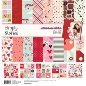 Simple Stories - Sweet Talk Collection Kit