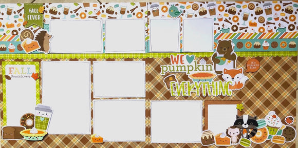 We Love Pumpkin Everything Layout Kit