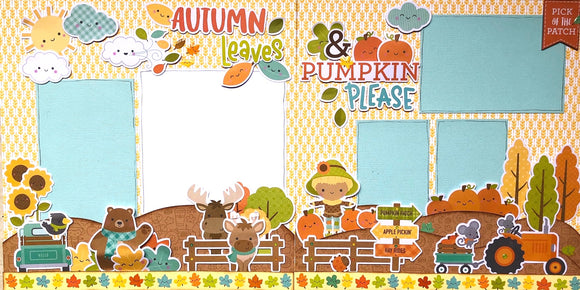 Autumn Leaves & Pumpkin Please Layout Kit