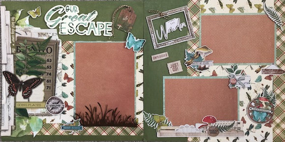 Our Great Escape Layout Kit