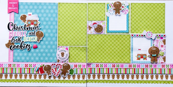 Goodies and Cookies Layout Kit