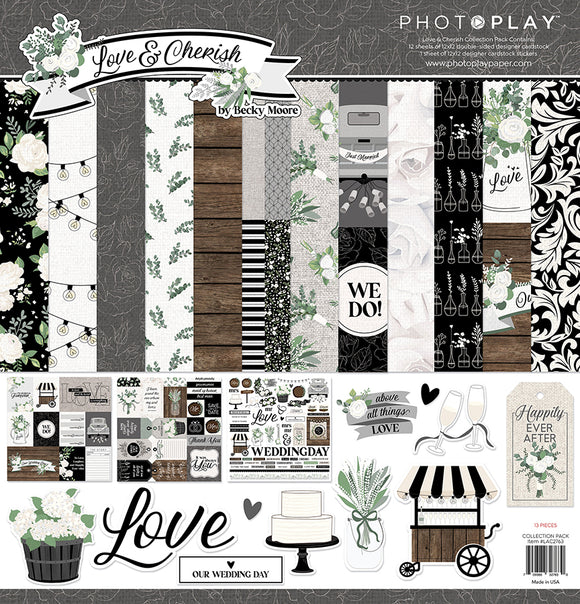 Photo Play - Love & Cherish Collection Kit