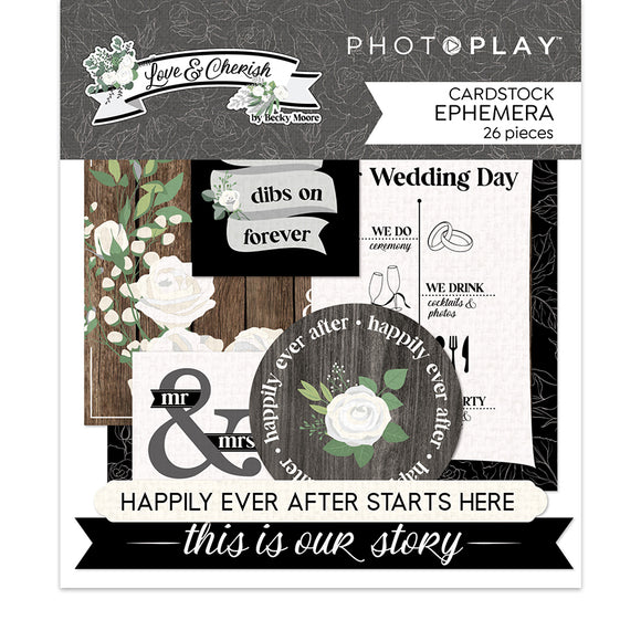 Photo Play - Love & Cherish Ephemera