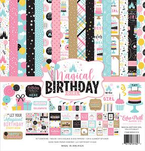 Echo Park - Magical Birthday Girl Collection Kit