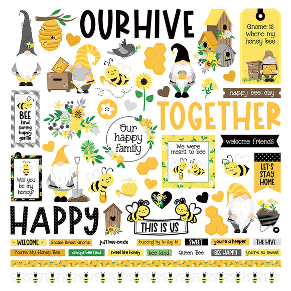 Photo Play - Sweet as Honey 12x12 Element Sticker