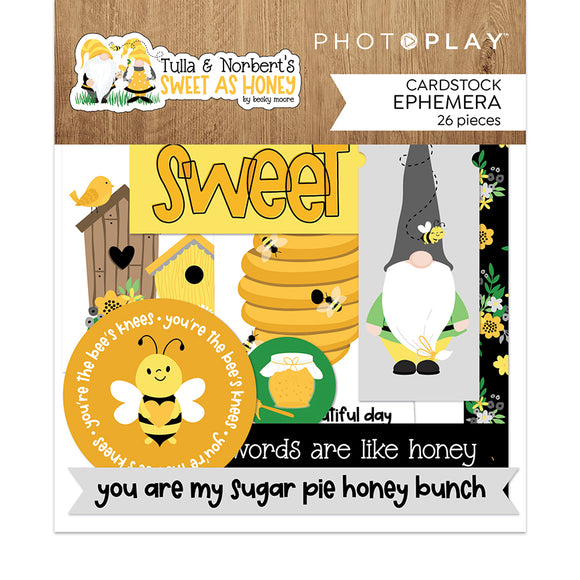 Photo Play - Sweet as Honey Ephemera