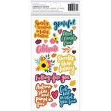 American Crafts - Grateful Chipboard