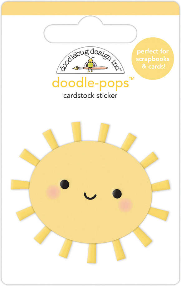 Doodlebug Design Fairy Garden - Sunshiny Day Doodle-Pop