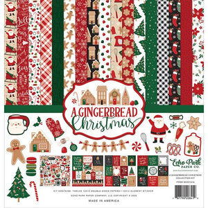 Echo Park - A Gingerbread Christmas Collection Kit