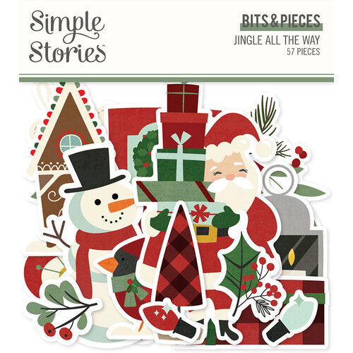 SImple Stories Jingle All the Way - Bits & Pieces