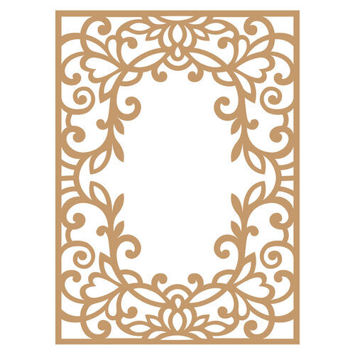 Prima Marketing Decorative Chipboard - Vine Frame