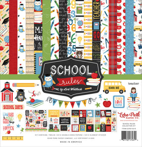 Echo Park - School Rules Collection Kit