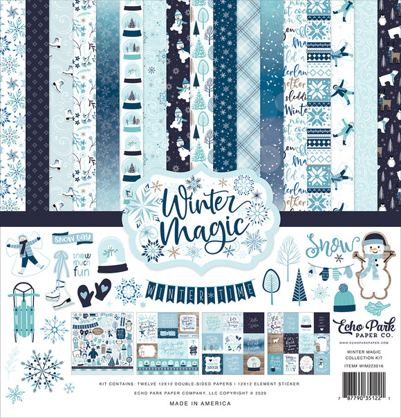 Echo Park - Winter Magic Collection Kit