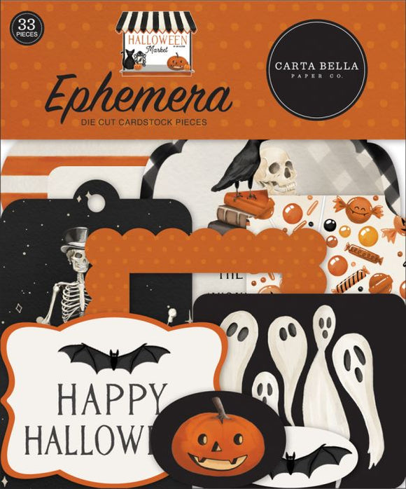 Carta Bella - Halloween Market Ephemera