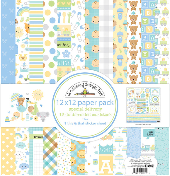 *SALE* Doodlebug - Special Delivery Collection Kit