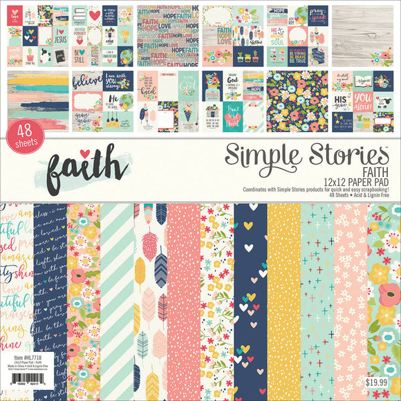*SALE* Simple Stories - Faith Paper Pad
