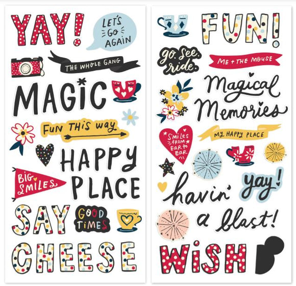 Simple Stories - Say Cheese! Mainstreet Foam Stickers