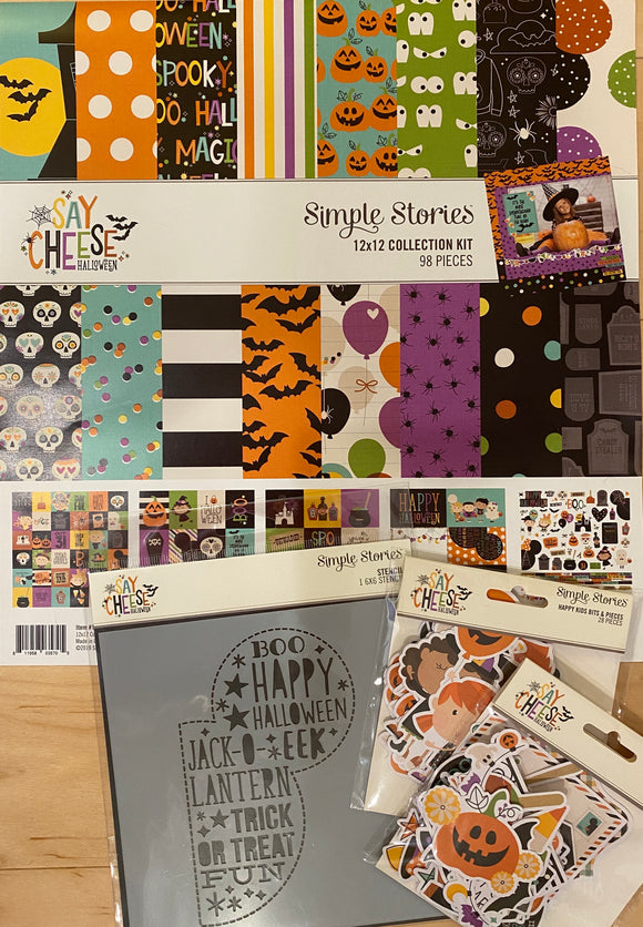 *SALE* Simple Stories - Say Cheese Halloween Bundle
