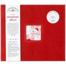 Doodlebug -  12x12  Storybook  Album - 15 Colors Available