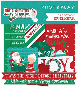 Photo Play - Not a Creature Was Stirring... Ephemera