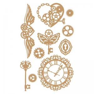 Prima Marketing Decorative Chipboard - Mechanical Dreams