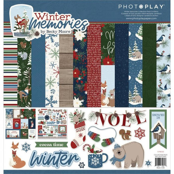 Photo Play -Winter Memories Collection Kit
