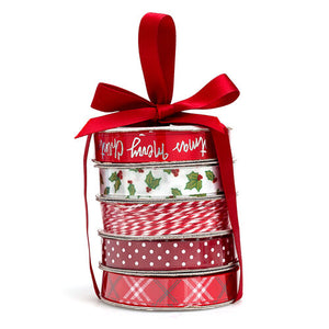 *SALE* American Crafts - Ribbon & Twine - Christmas Reds
