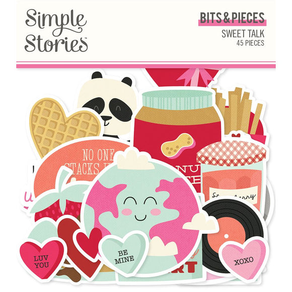 Simple Stories - Sweet Talk Bits & Pieces
