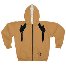 "Load image into Gallery viewer, OTH ""KNIFESTYLE""  Zip Hoodie"