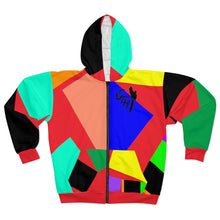 "Load image into Gallery viewer, OTH ""CRAYZOLA""  Zip Hoodie"