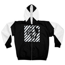 "Load image into Gallery viewer, OTH ""BECAUTIOUS"" Zip Hoodie"
