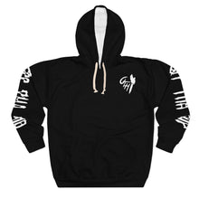 "Load image into Gallery viewer, OTH ""THEGEM"" Pullover Hoodie BLK"