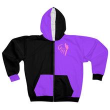 "Load image into Gallery viewer, OTH ""SCARYBERRY"" Zip Hoodie"
