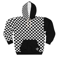 "Load image into Gallery viewer, OTH ""CHECKER"" Rare Custom Hoodie by CP"