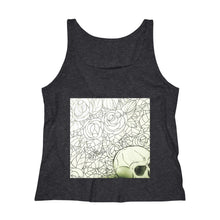 "Load image into Gallery viewer, OTH 'Skull 'n' Roses"" Jersey Tank Collection by $H"