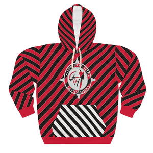 OTH STRIPELYFE Pullover Hoodie RARE RED EDITION