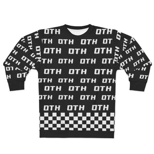 "OTH ""CHECKER X OTHMONO"" Sweatshirt by CP"