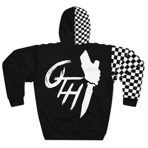 "OTH ""CHECKER"" Rare Custom Hoodie by CP"