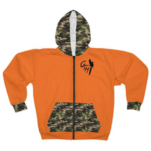 "Load image into Gallery viewer, OTH ""THEHUNTER"" Zip Hoodie"
