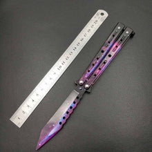 Load image into Gallery viewer, OTH butterfly knife titanium