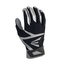 Load image into Gallery viewer, EASTON Z7 VRS HYPERSKIN BATTING GLOVES GREY BLACK