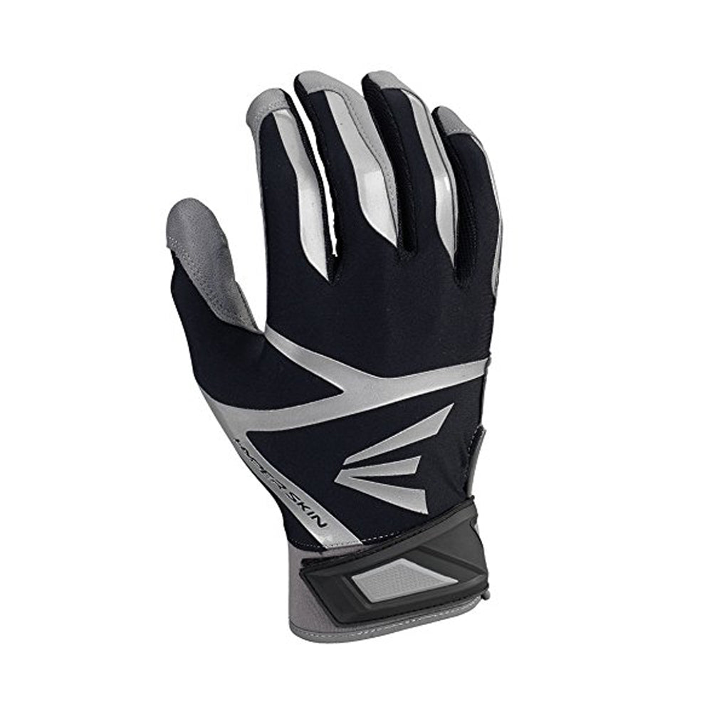 EASTON Z7 VRS HYPERSKIN BATTING GLOVES GREY BLACK