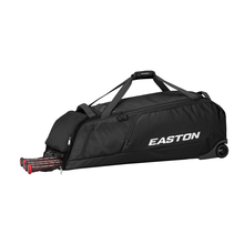 Load image into Gallery viewer, EASTON DUGOUT WHEELED BAG BLACK