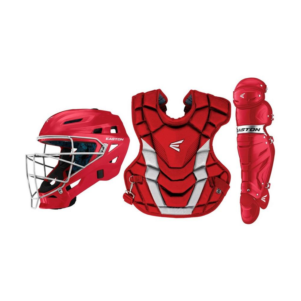 EASTON GAMETIME CATCHER'S BOX SET RED