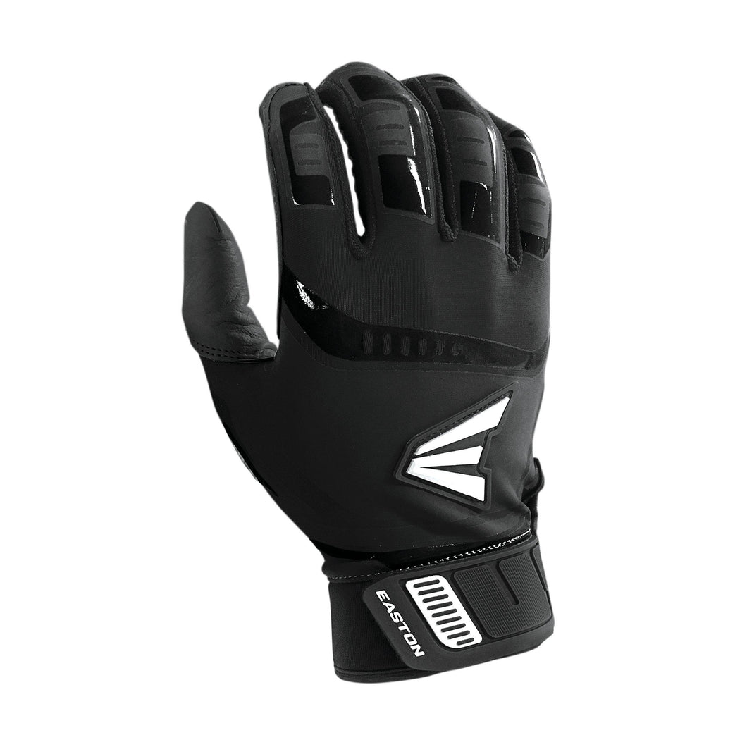 EASTON WALK OFF BATTING GLOVE BLACK BLACK